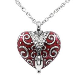 Unzip the Veil Heart Necklace
