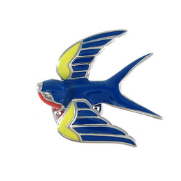 Joyous Sparrow Pin