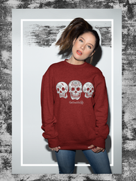 "Unisex ""3 Sheets To The Wind"" Crew Neck Sweatshirt"
