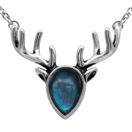 Mother of Pearl  Reindeer Necklace