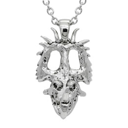 Dinosaur Necklace - styracosaurus