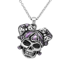 Hot Girl Skull Necklace