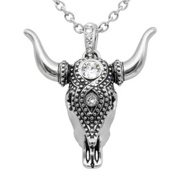 Taurus Bull Skull Necklace