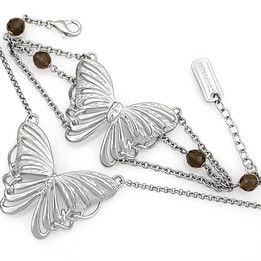 Metamorphosis Butterfly Necklace & Bracelet Set