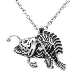 Fish Necklace - Lanternfish 'Light The Way'
