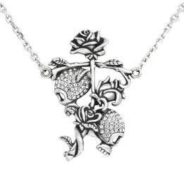 Til Death Do Us Part Necklace - with Swarovski Crystals