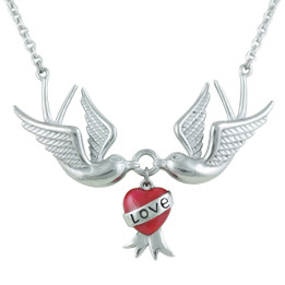Love Swallows Necklace