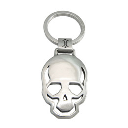 Skull Of Steel Key Ring