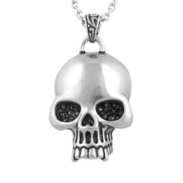 skull glimmer necklace