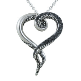 Dark & Bright Tentacle Octopus Necklace