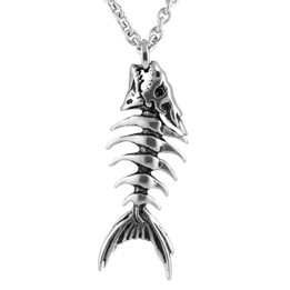 Fish Bones Necklace