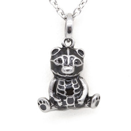 Bony The Bear Petite Necklace - adorned with Swarovski Crystals