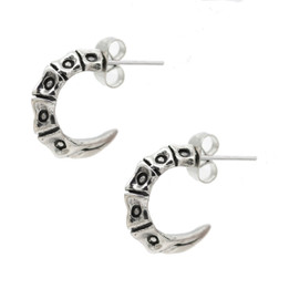 scorpion tailbone  stud earring