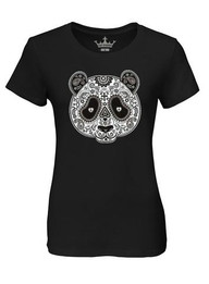 "LADIES ""DIA DE PANDA"" CREW NECK TEE"