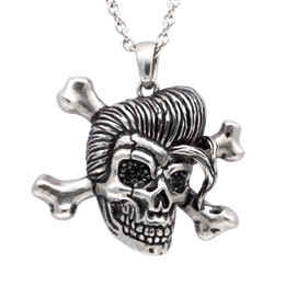 Rockabilly Skull Necklace