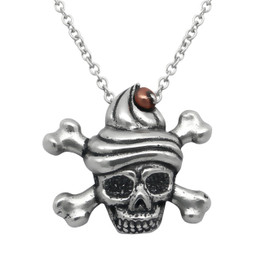 Sweet & Deadly Skull Necklace