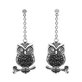 Mid-Nighter Owl Earrings