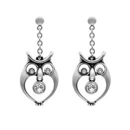 Watchful Owl Earrings