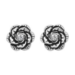Crystal Bloom Flower Earrings