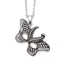 Butterfly Mask Necklace