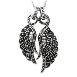 Angelique - Couple Wings Necklace
