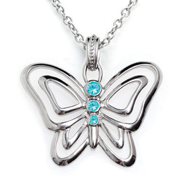 Frivolous Pursuits - Butterfly necklace