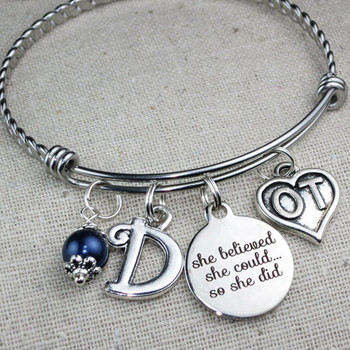 She Believed She Could So She Did OT Gift - Occupational Therapist Gift