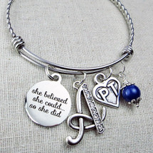 Gifts for PT Graduate - She Believed She Could So She Did Physical Therapist Gift