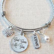 God Gave Me You Bracelet - Religious Jewelry