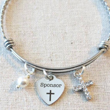 Confirmation SPONSOR Bracelet - Catholic Mentor Gifts