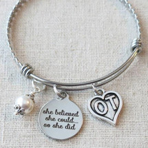 OT Occupational Therapist Graduation Gift - She Believed She Could So She Did OT Gifts