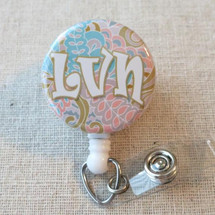 LVN Badge Reel, LVN Nurse Graduation Gifts, LVN Badge ID Holder, Licensed Vocational Nurse Student Grad Gift, Nurse Week Thank You Gifts