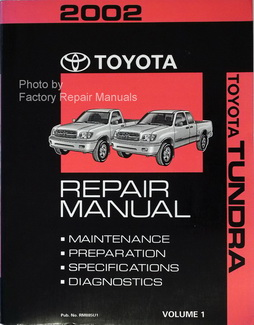 2002 Toyota Tundra Service Manual
