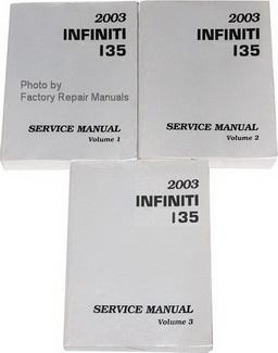 2003 Infiniti I35 Service Manual