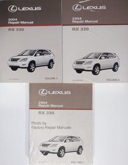 2004 Lexus RX330 Factory Service Manual