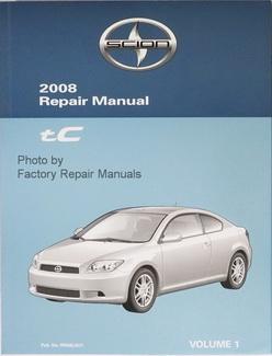 Scion 2008 Repair Manual tC