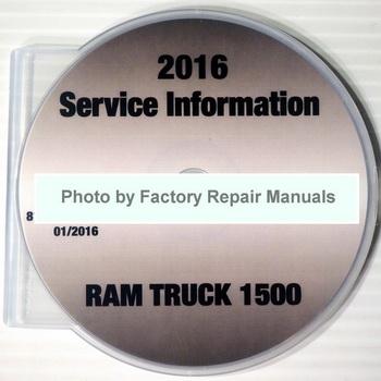 2016 Service Manual Ram Truck 1500
