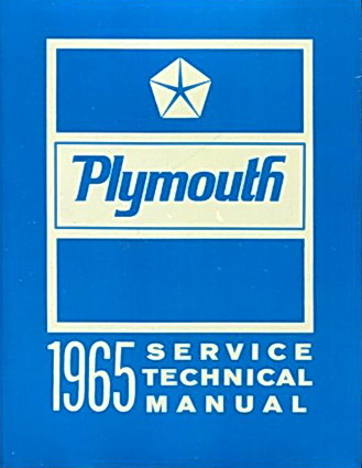 Plymouth 1965 Technical Service Manual