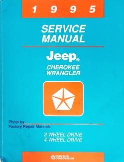 1995 Service Manual Cherokee Wrangler