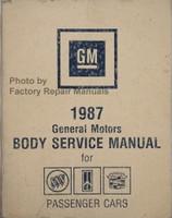 1987 General Motors Body Service Manual for Buick Cadillac Oldsmobile