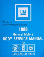 1988 General Motors Body Service Manual for Buick Cadillac Oldsmobile