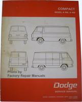 Compact Model A-100, A-108 Dodge Service Manual