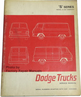 'S' Series Model A-100 Compact Dodge Trucks Service Manual
