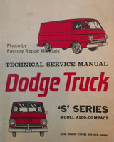 Service Manual Dodge Truck 'S' Series Model A-100 Compact