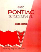 1983 Pontiac Service Manual Firebird
