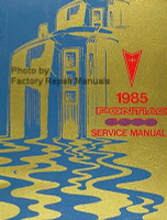 1985 Pontiac 6000 Service Manual