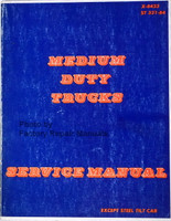 1984 Chevy GMC Medium Duty Truck Service Manual