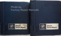 1985 Buick All Models Chassis Service Manual Volumes 1 & 2