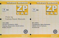 2005 Service Manual Pontiac G6 ZP Car