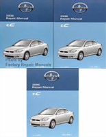 2006 Scion tC Repair Manual Volume 1, 2, 3